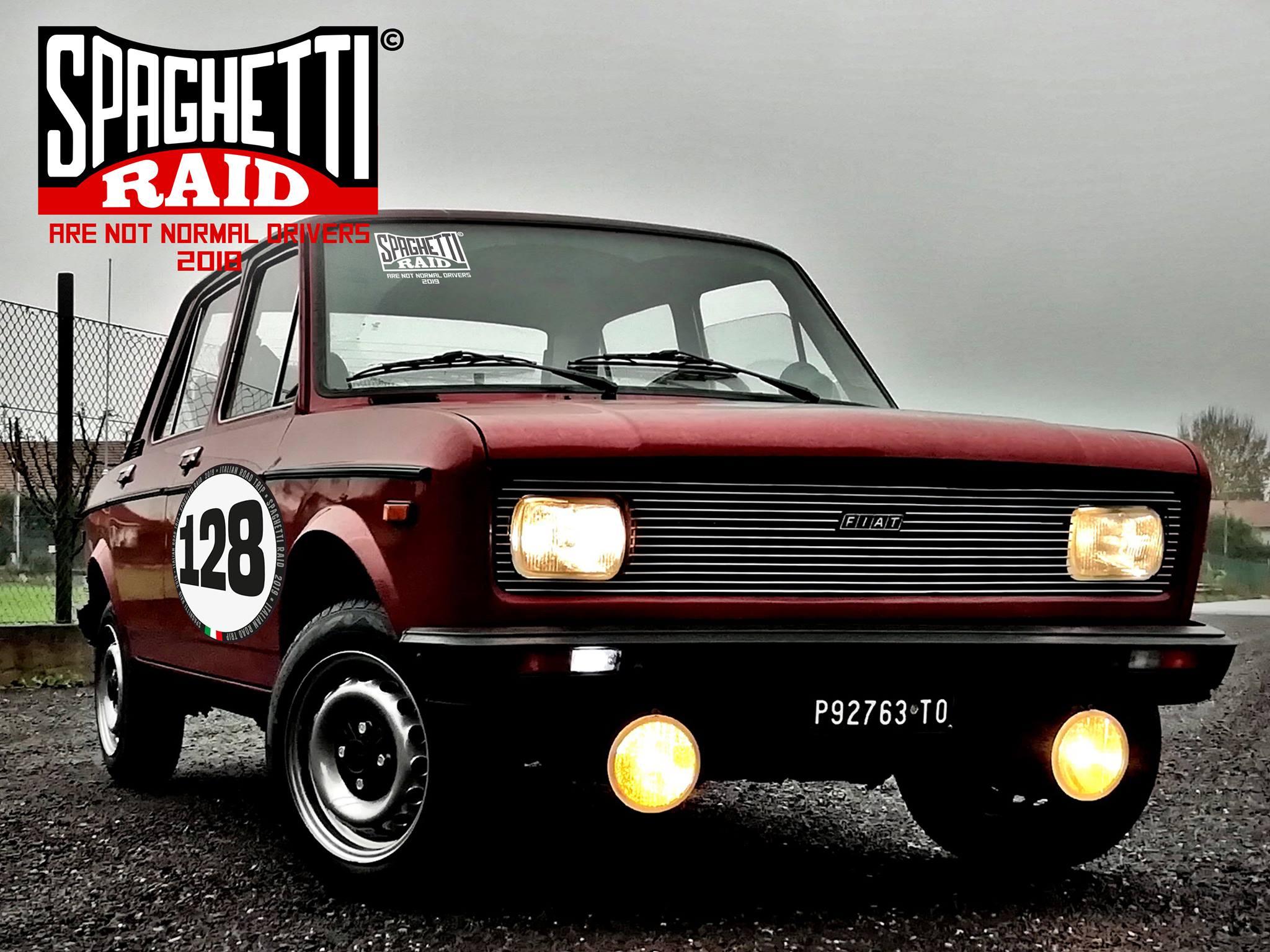 Team LA MOLE #128 FIAT 128 -1100cc - 1977 città Torino