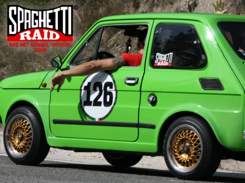 Team PORTUNO #126 FIAT 126 650cc del '80