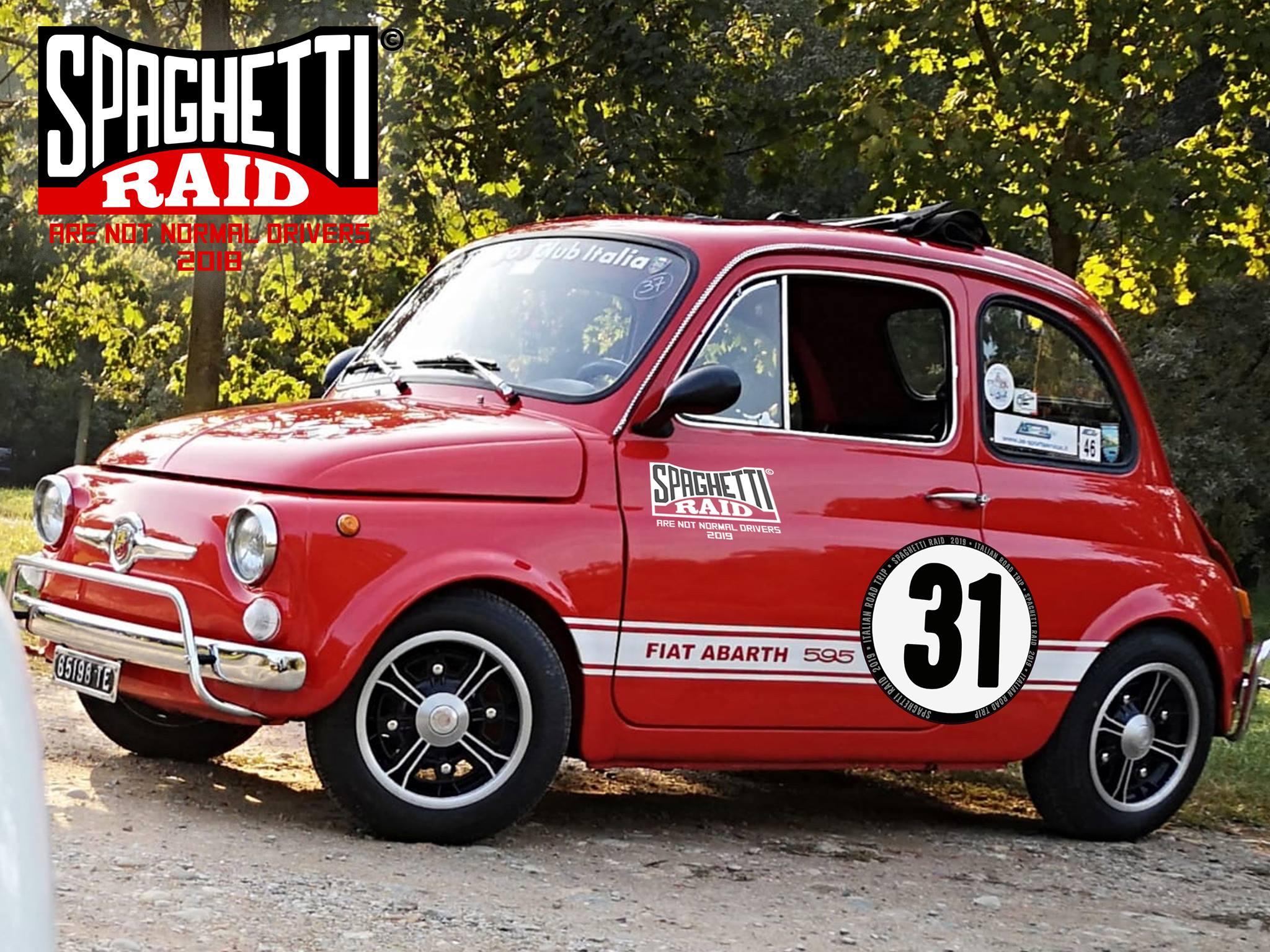 Team BANDA CICCIOTTI #31 FIAT 500L del'71 CIttà Castel Mella BS