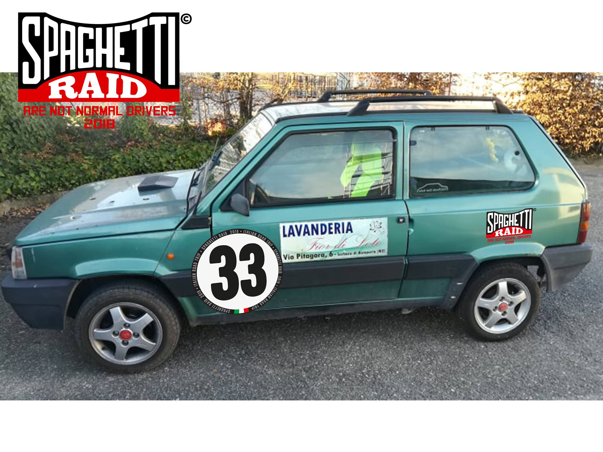 Team FIOR DI LOTO RACING TEAM #33 FIAT PANDA HOBBY 899cc del '99 Città: San Prospero MO