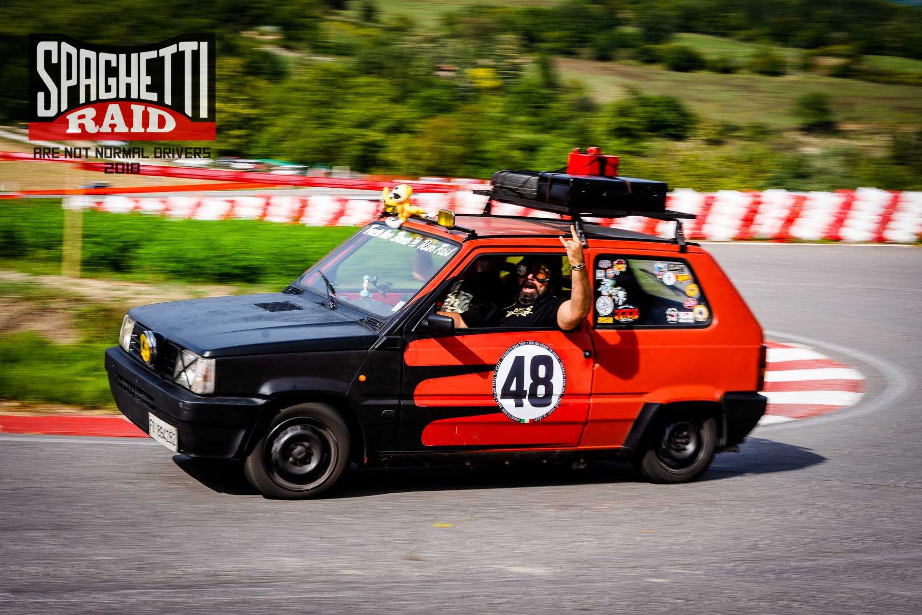 Team FUCK THE BANK #48 Fiat Panda 1000cc del '94 Città: Senza fissa dimora