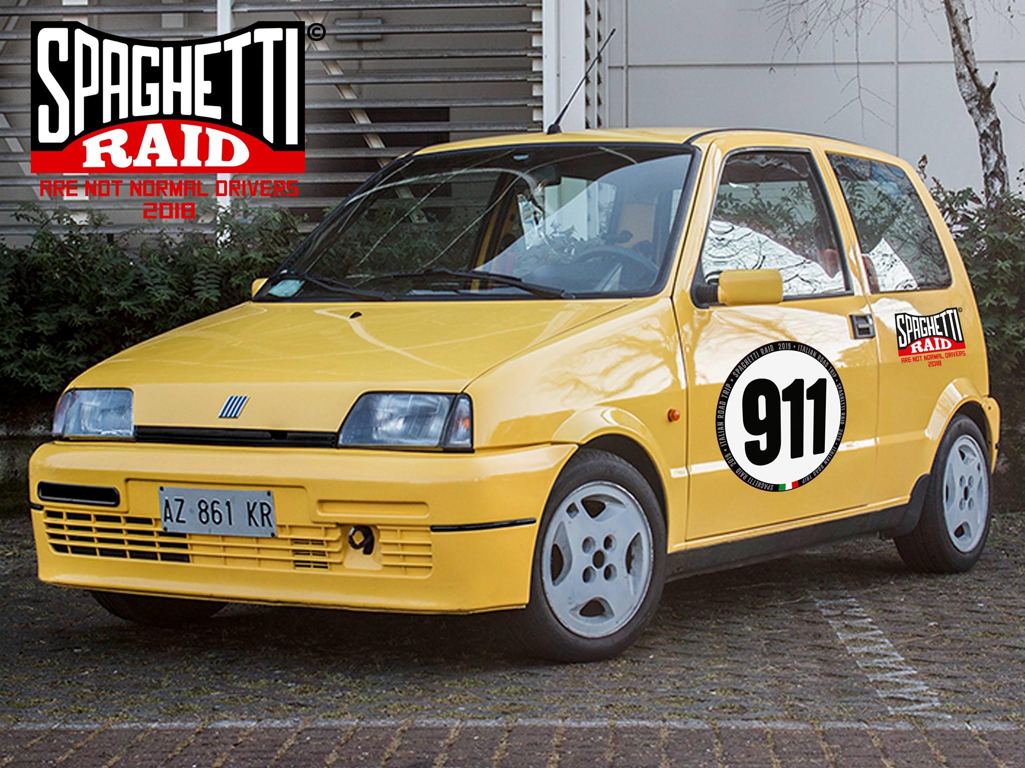Team STRUNZ TRUPPEN #911 FIAT 500 SPORTING 1100cc del '98 Città: Cremona
