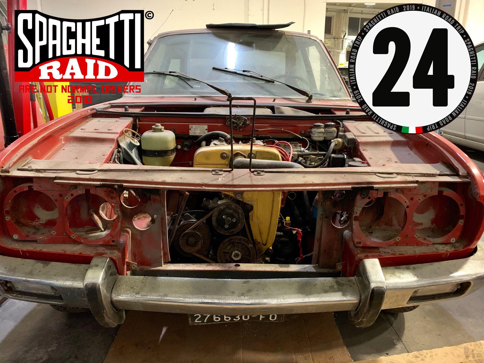 Team AMARCORD PIU' #24 FIAT 124 SPORT COUPE' del 74 Città: Misano Adriatico RN