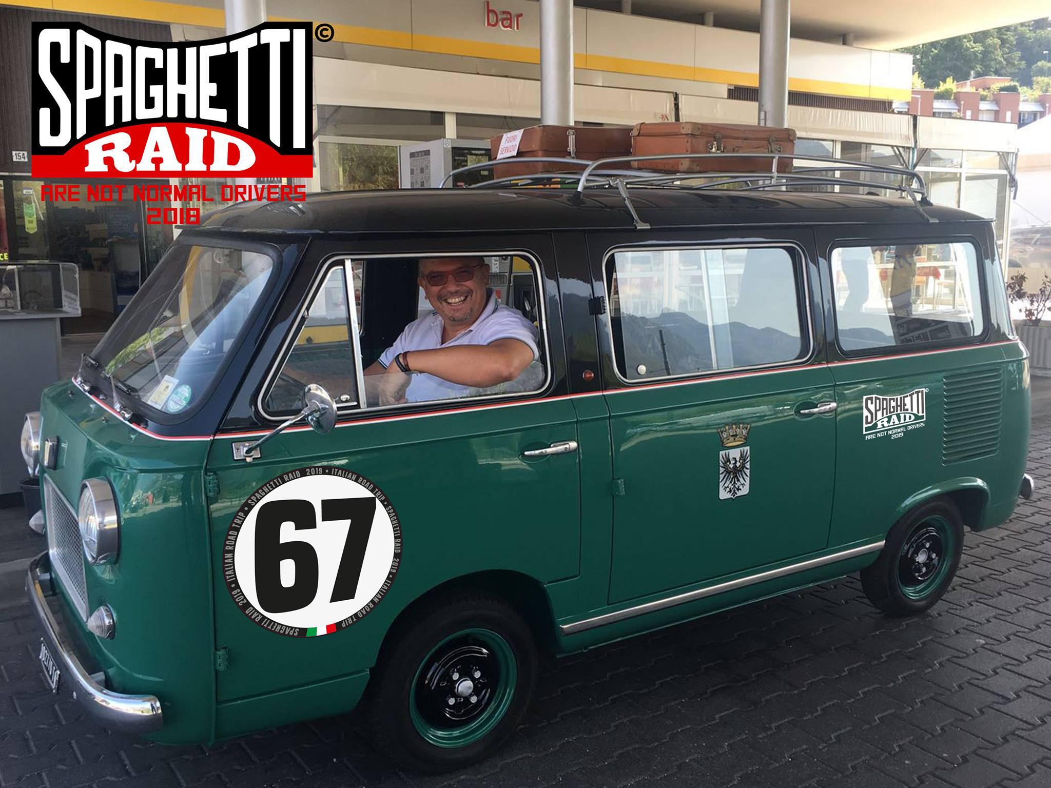 Team DOTTCOKE #67 FIAT 600t livrea taxi ASI ORO città Carnate MB