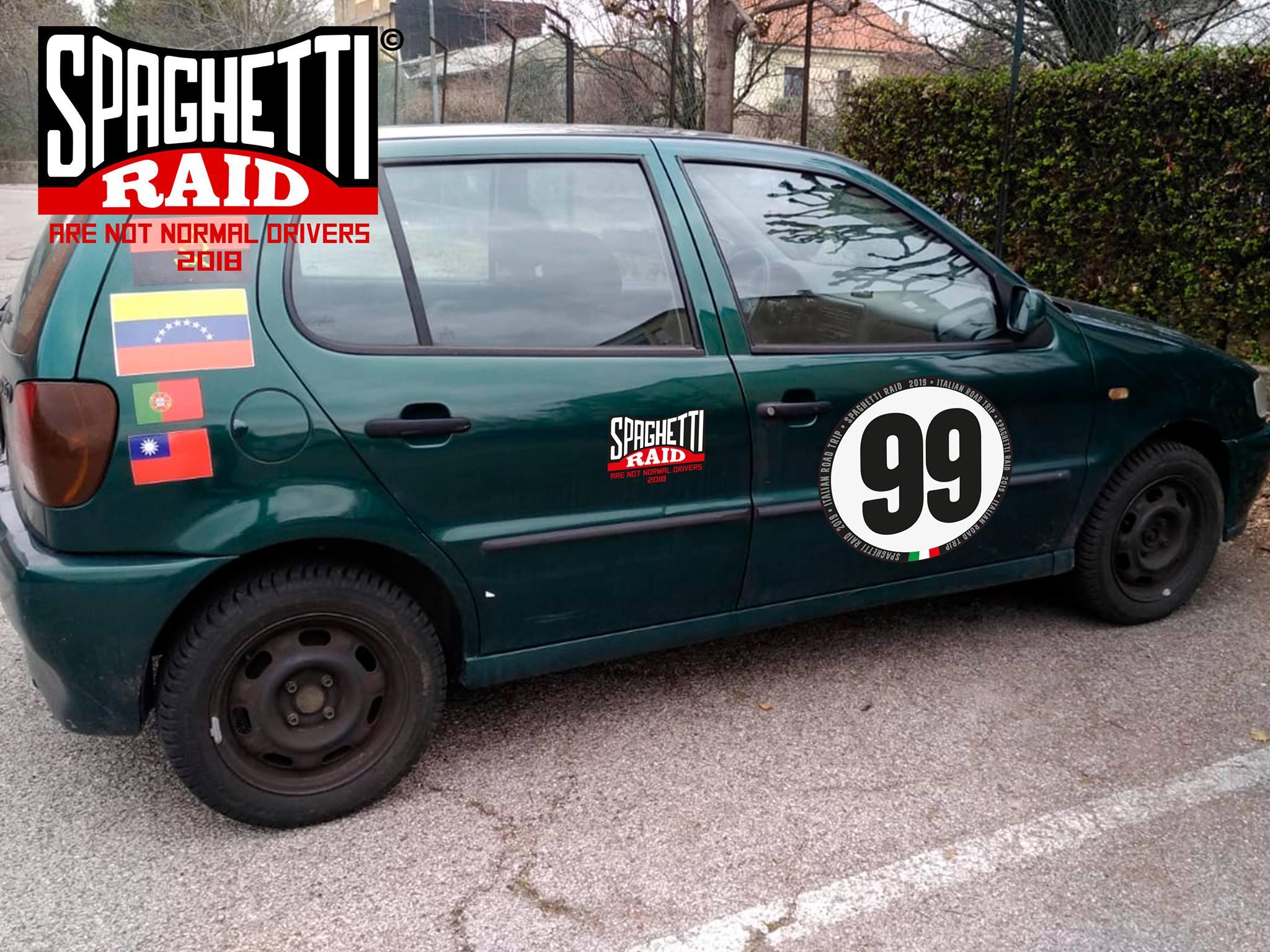 Team SERENA 69 #99 VW POLO 1200cc del '99 Città: Como, Rimini