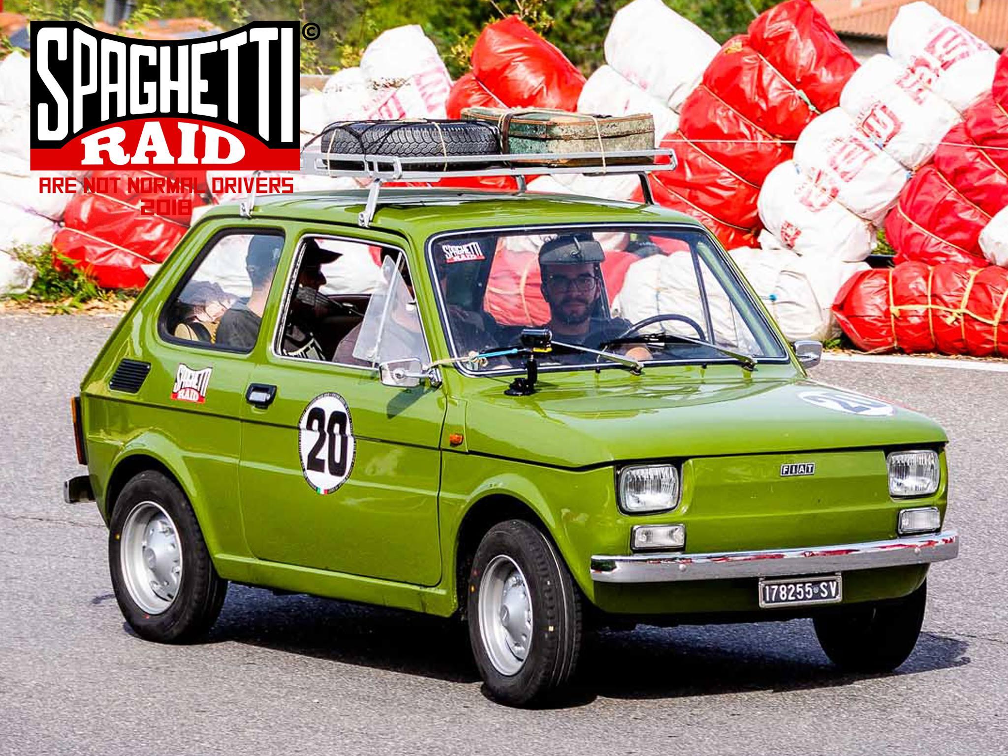 Team SPUNCIA E RUNSA STU RAVATTU #20 FIAT 126 595cc del '76 Città: Varazze SV