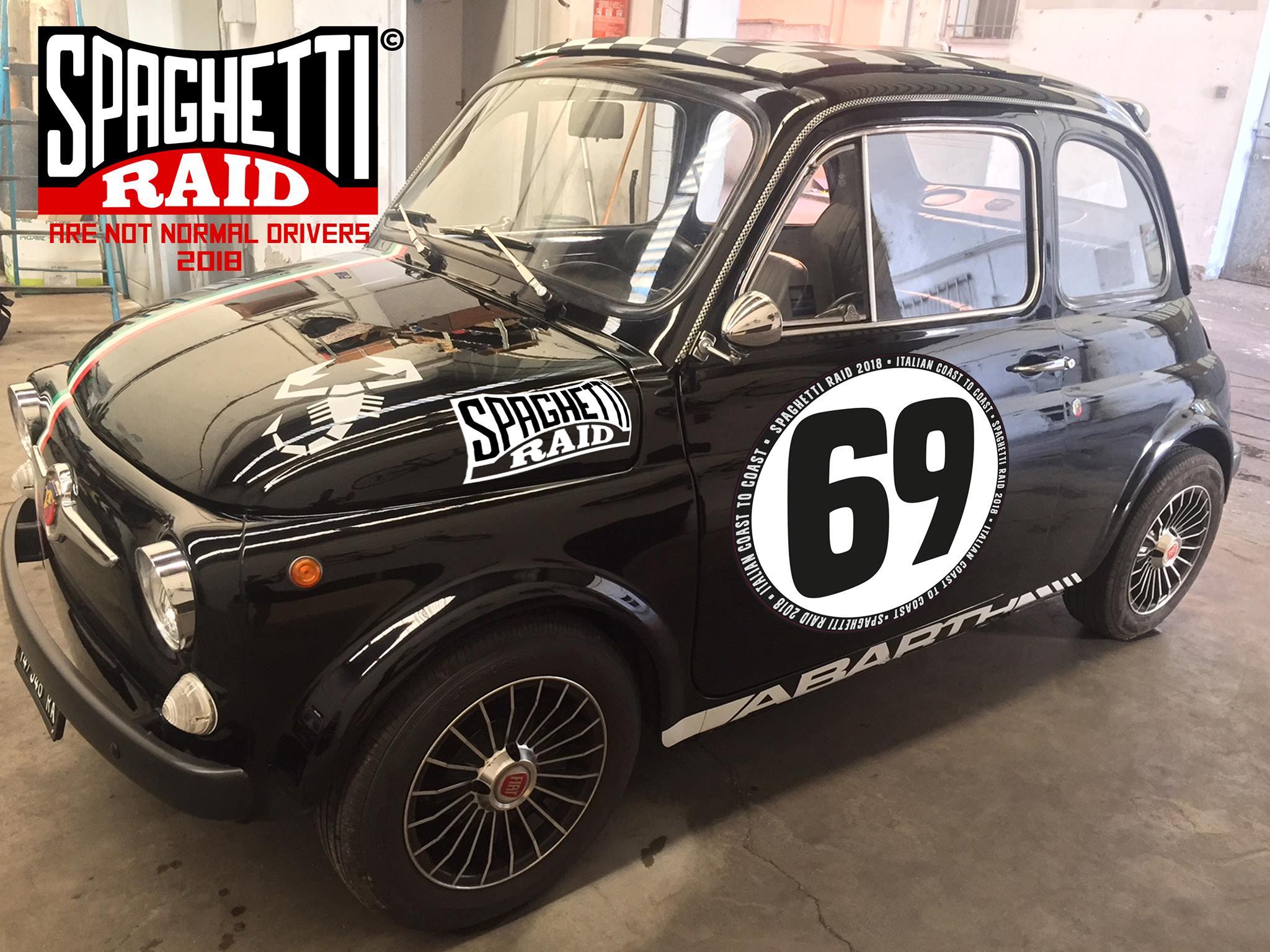 Team LOVA LOVA #69 FIAT 500 del '69 città Faenza RA