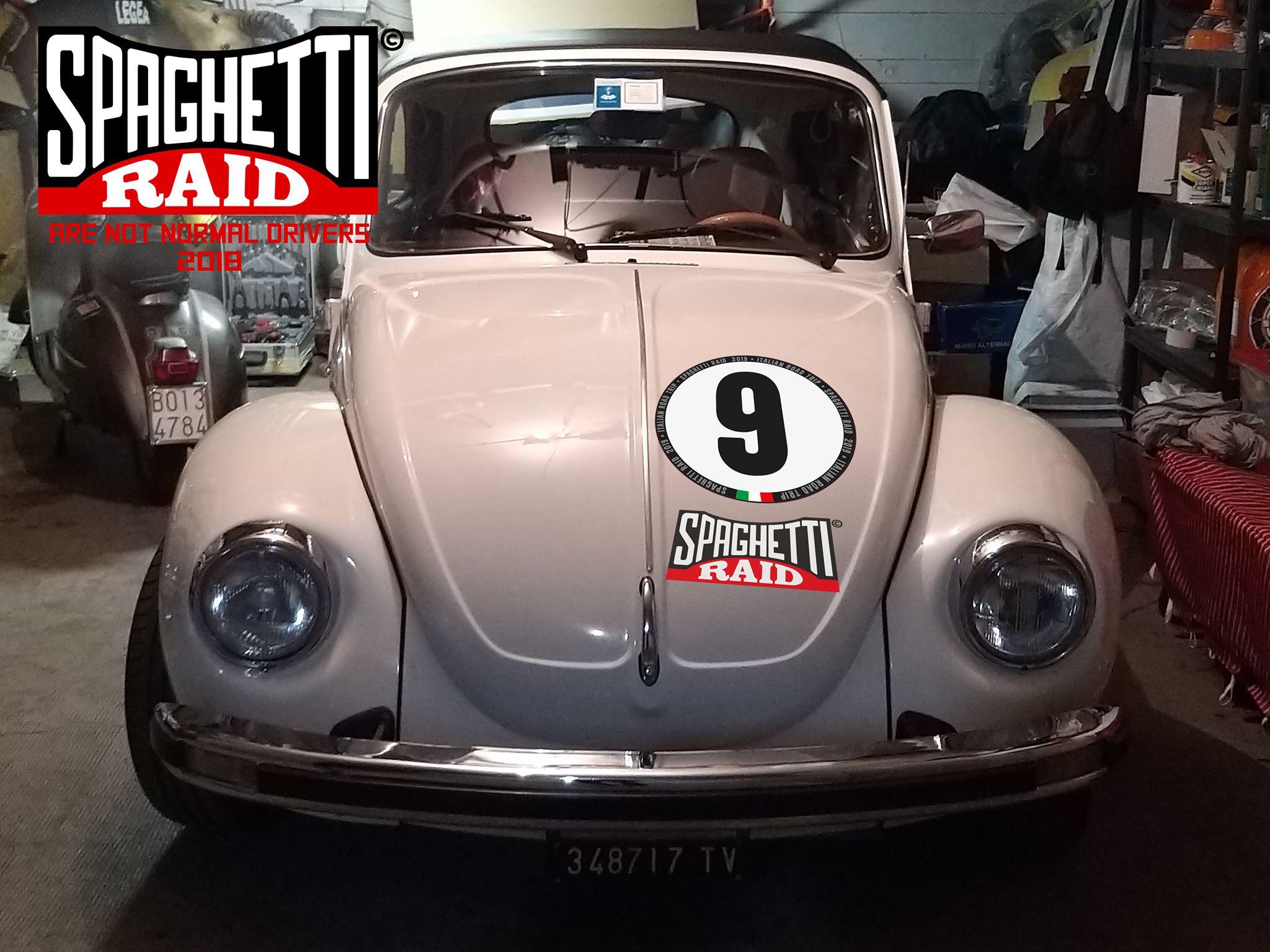 Team OTTO #9 MAGGIOLONE CABRIO cc1200 del '76 CIttà Modena