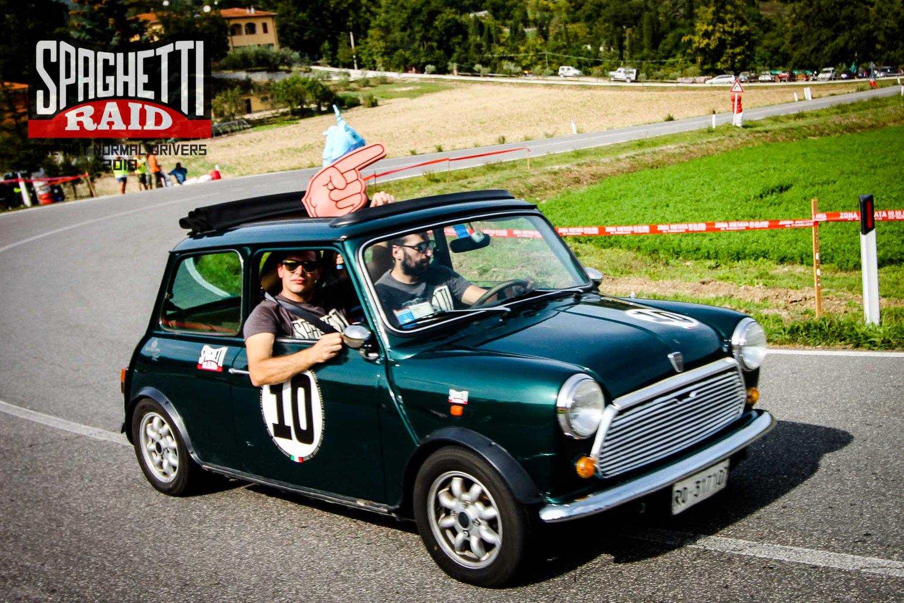 Team FAKE TAXI #10 MINI ROVER 1300cc del '92 Città: Padova