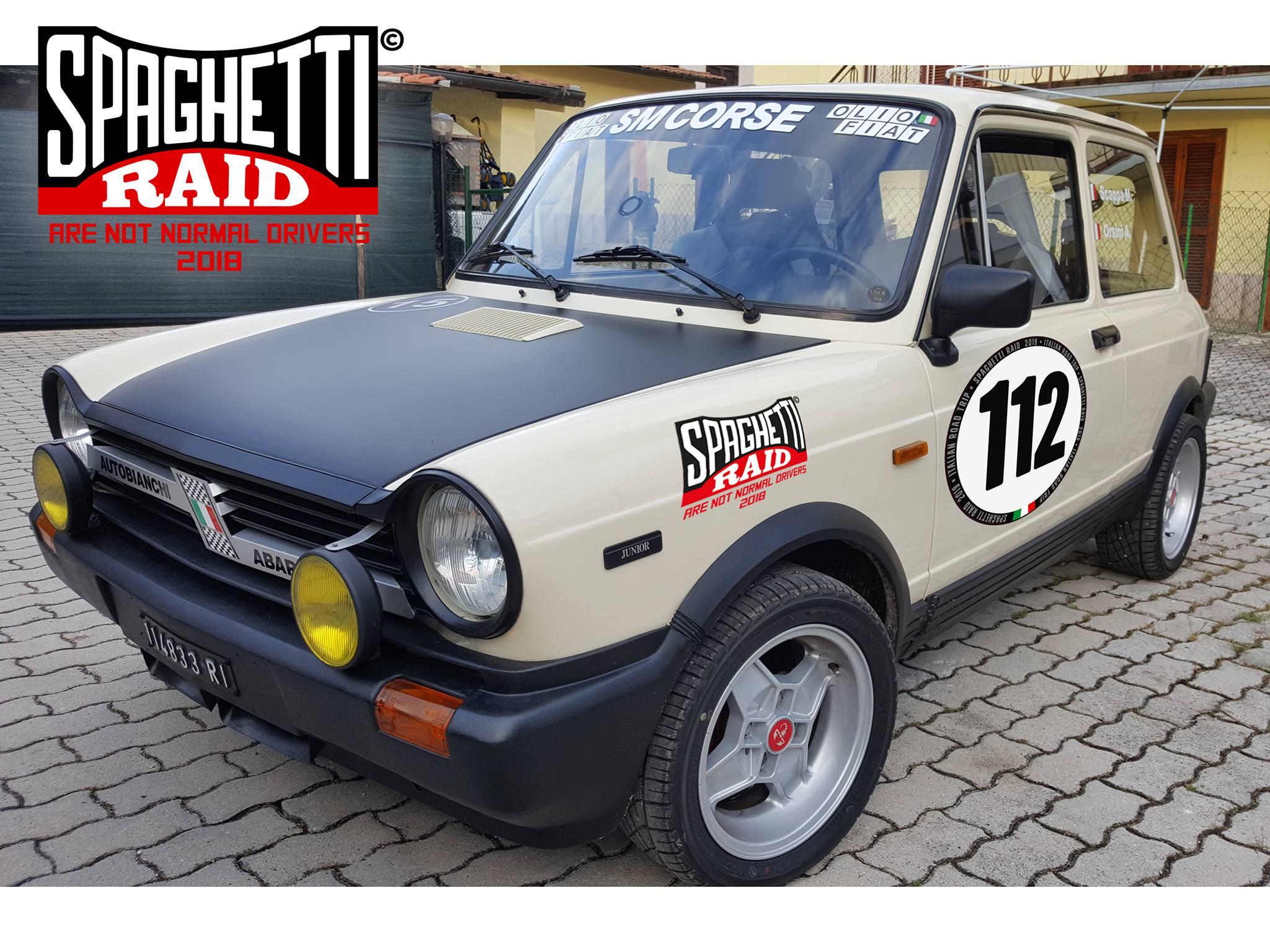Team SM CORSE #112 AUTOBIANCHI A112 903cc del '84 Città: Rieti