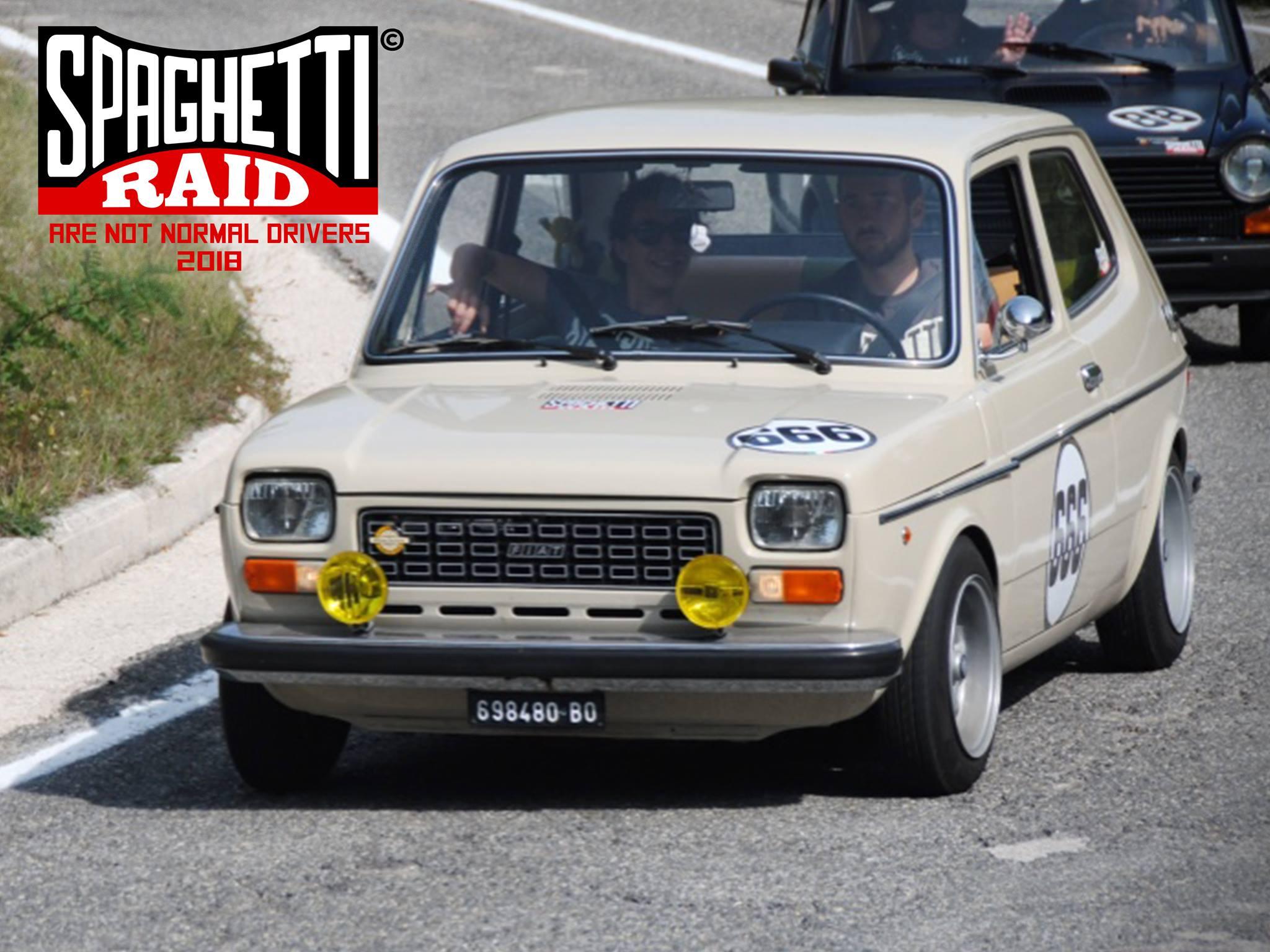 Team PENNO #666 FIAT 127 SPECIAL 903cc del '75 CIttà: Viareggio