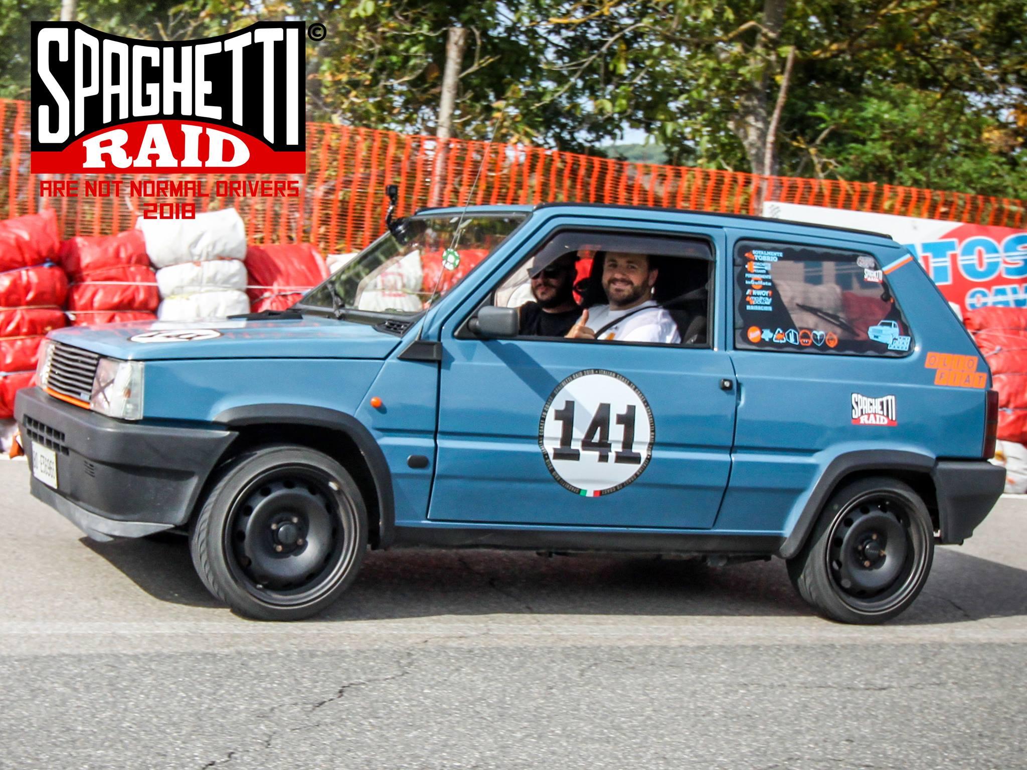 Team FORCHETTE PESANTI #141 FIAT PANDA 750cl del '90 Città: Vergato BO