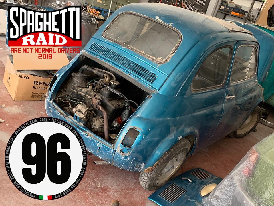 Team SPUNCIA E RUNSA STU RAVATTU #96 FIAT 500 del '71 Città: Varazze SV