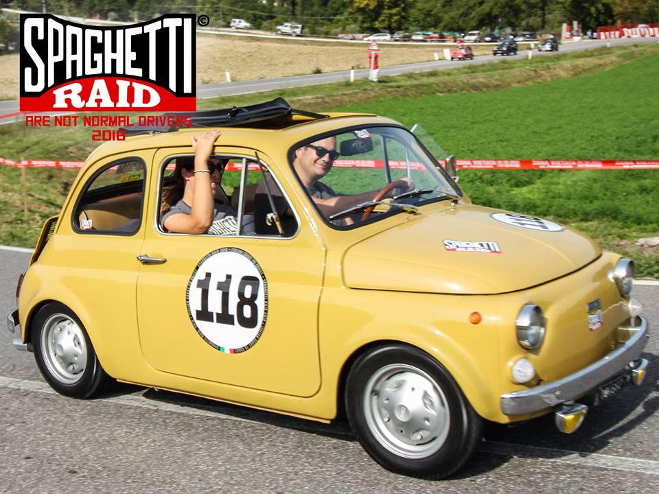 Team POLENTA #118 FIAT 500R del '73 Città: Mira VE