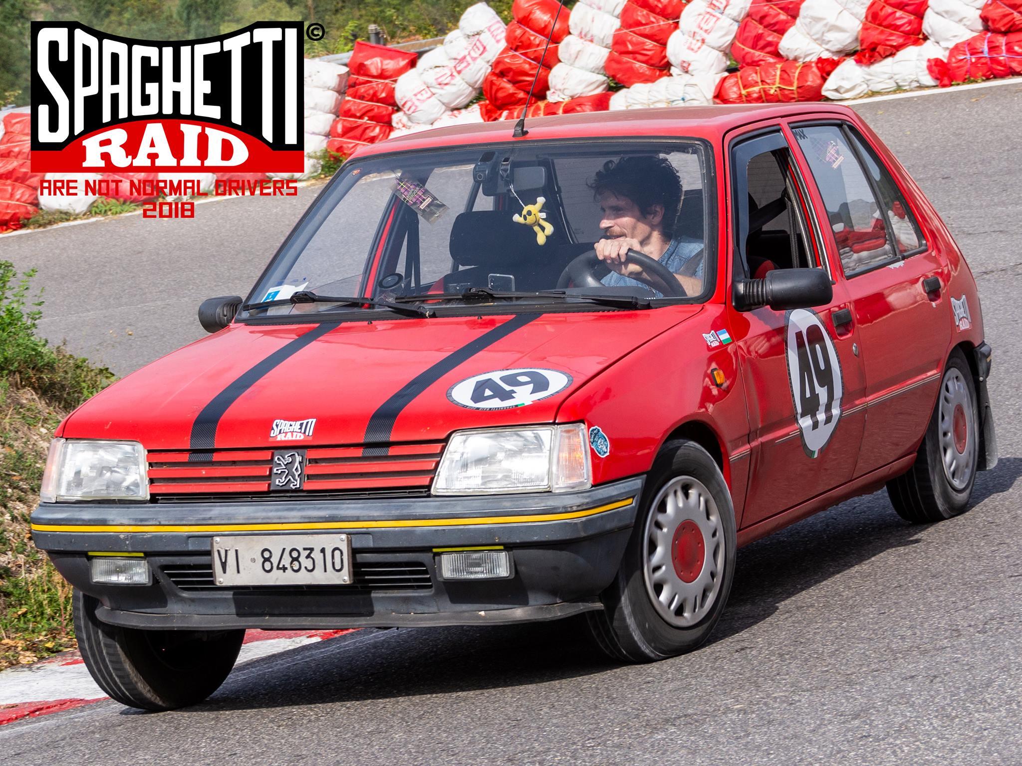 Team CADORIN #49 PEGEOT 205 1.1 del '91 Città: Caerano San Marco TV