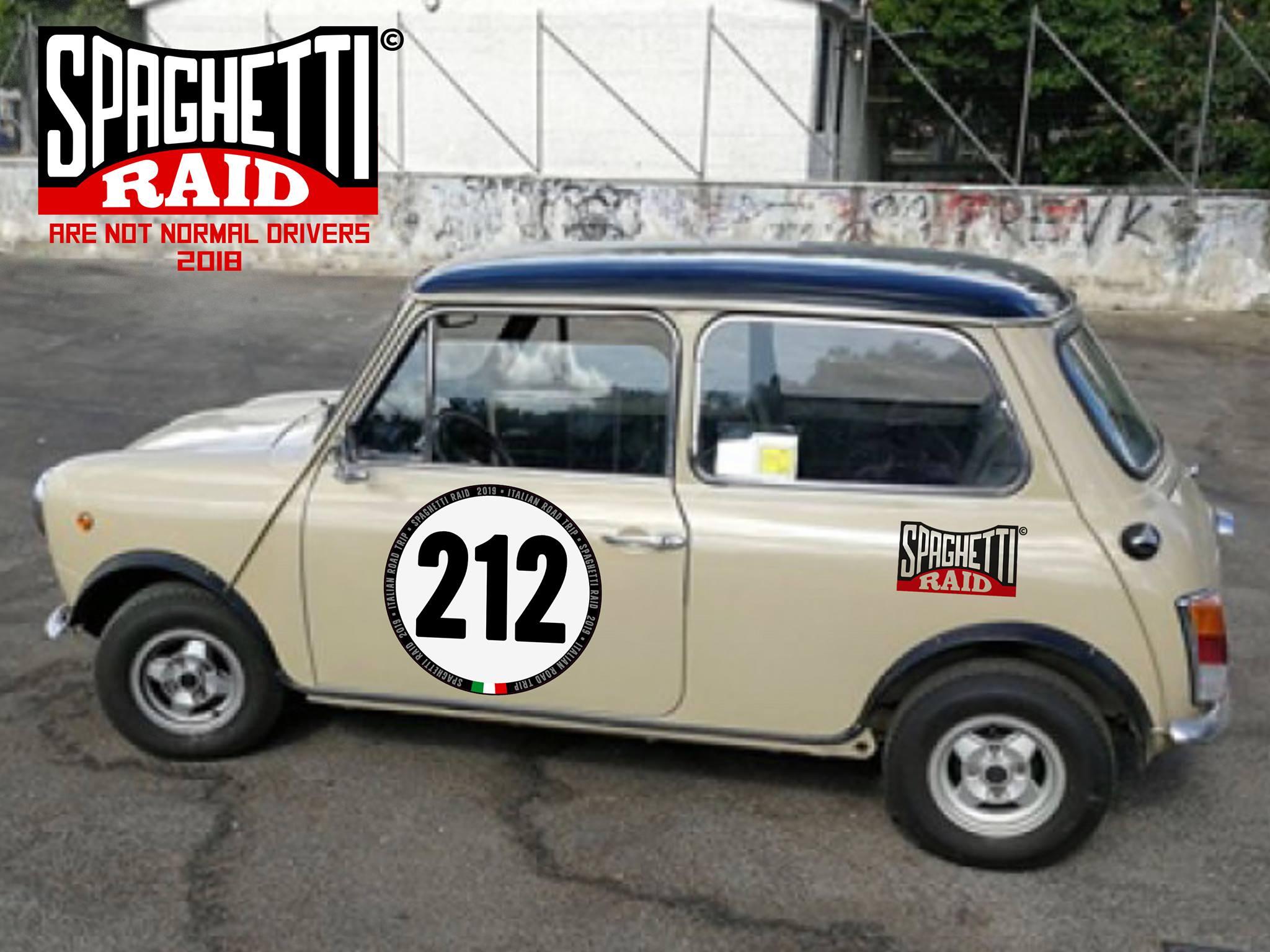 Team IL PASSATORE #212 MINI COOPER 1000 del '72 CIttà: Cesena FC