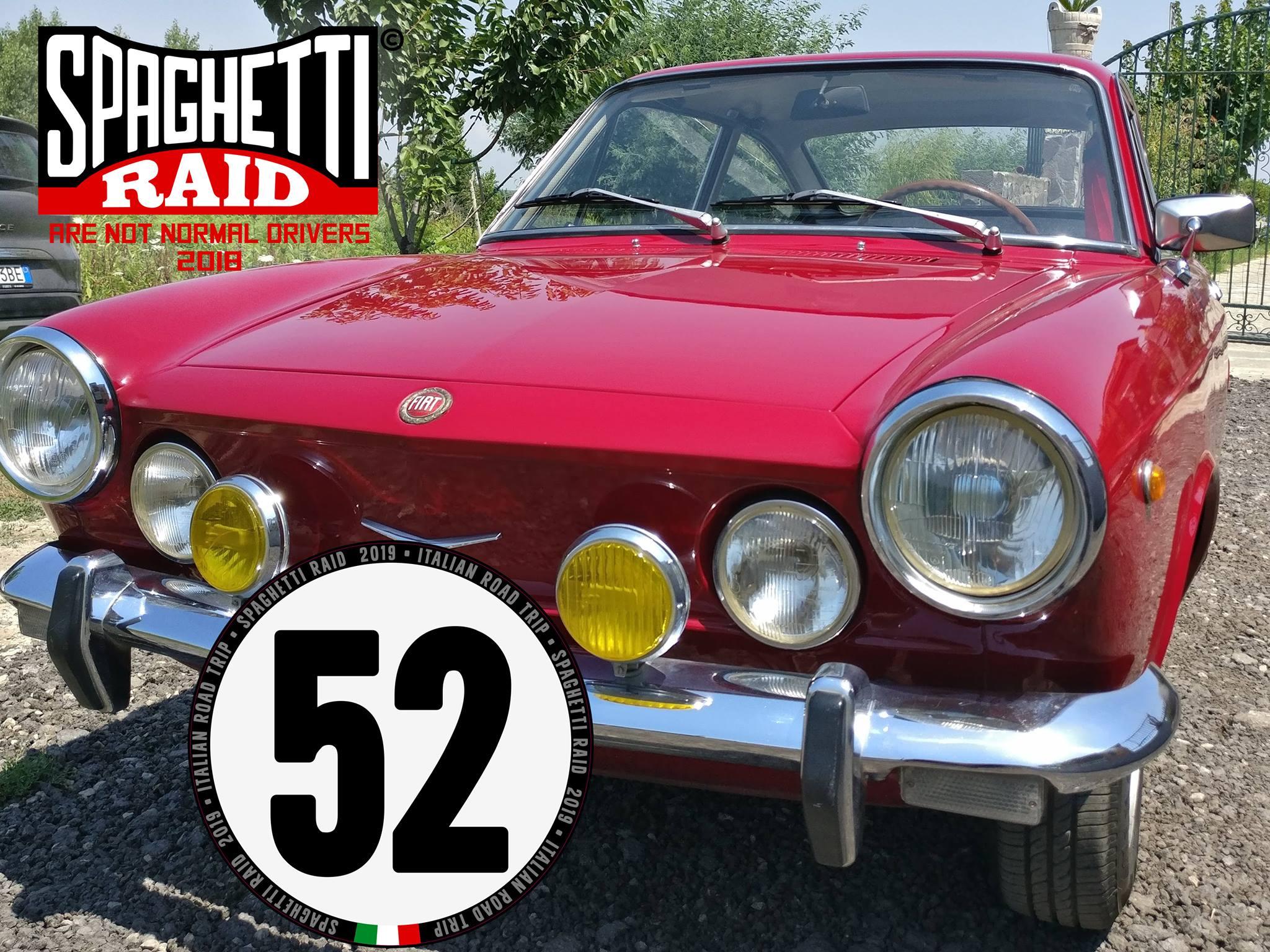 Team GENTE BRUTTA #52 FIAT 850 SPORT 903cc del '50 CIttà: Napoli