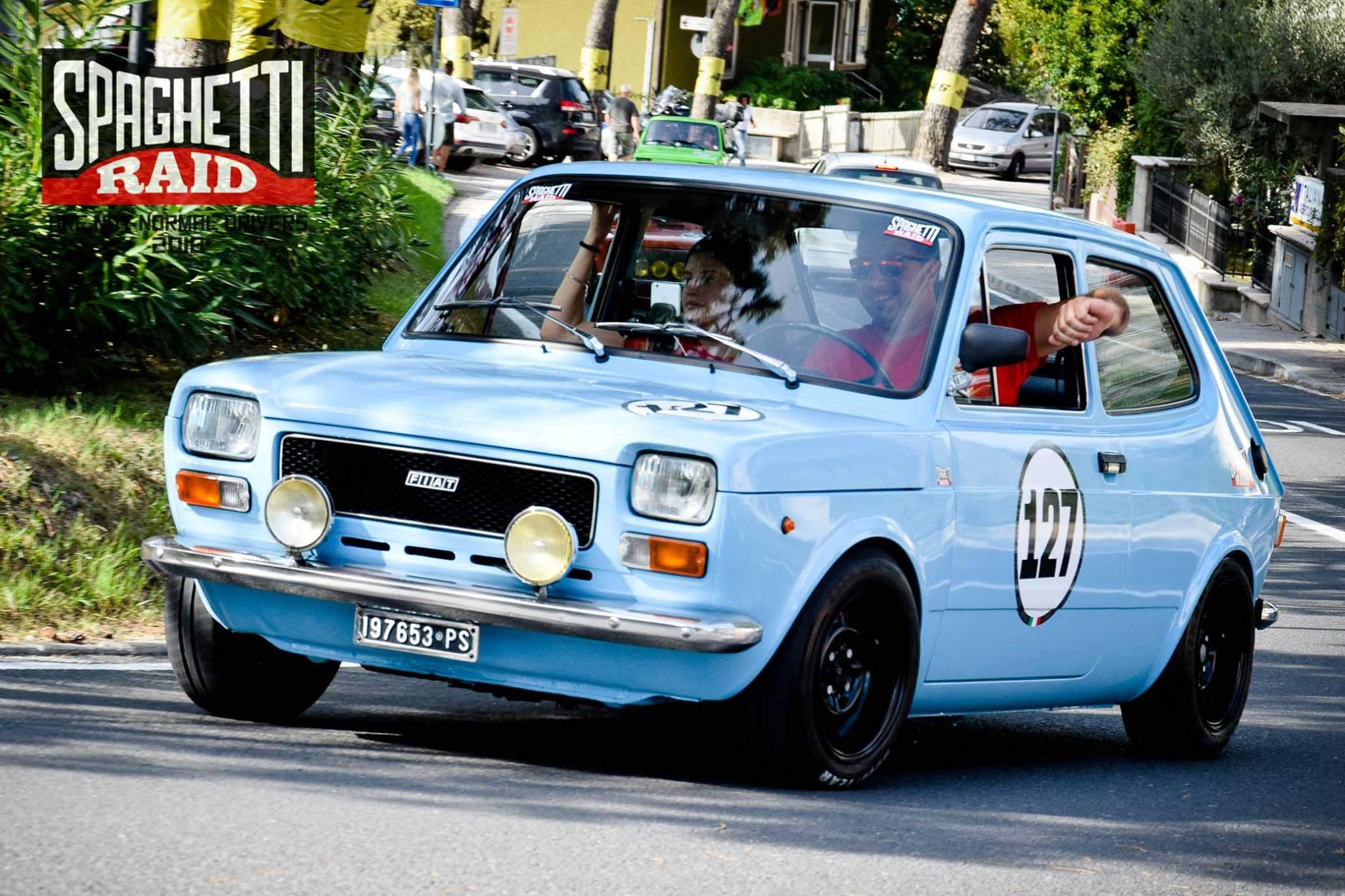Team PORTUNO #127 FIAT 127 903cc del '77 Città: Pesaro