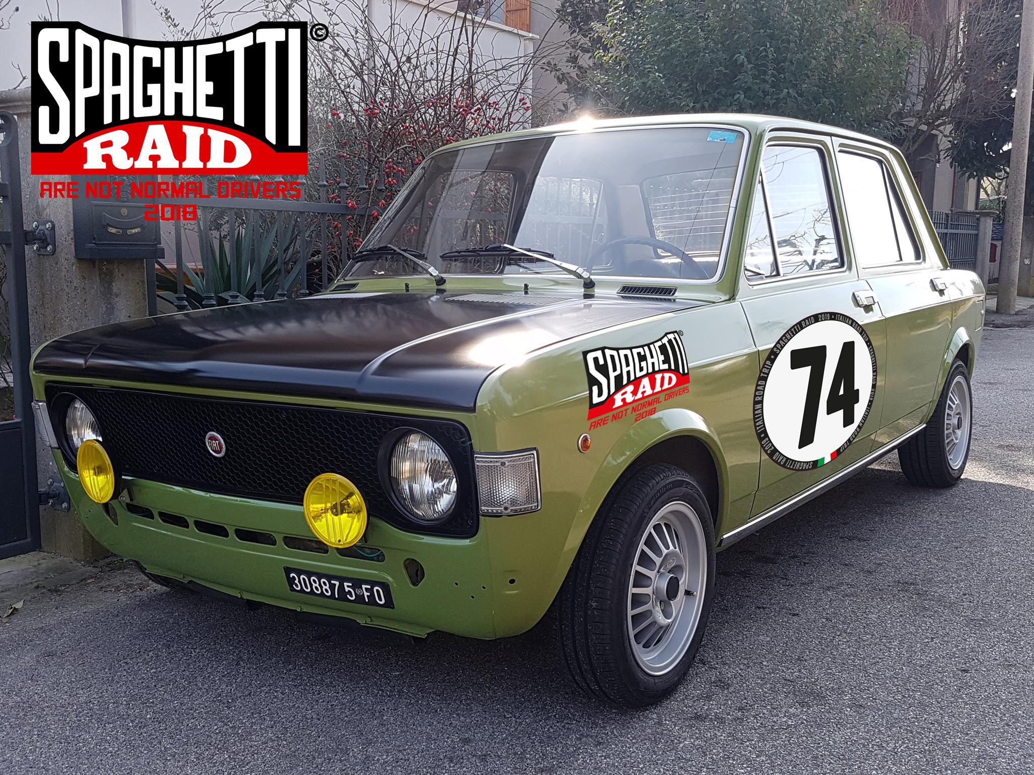 Team MEC #74 FIAT 128 1100cc del '74 CIttà: Cesena FC