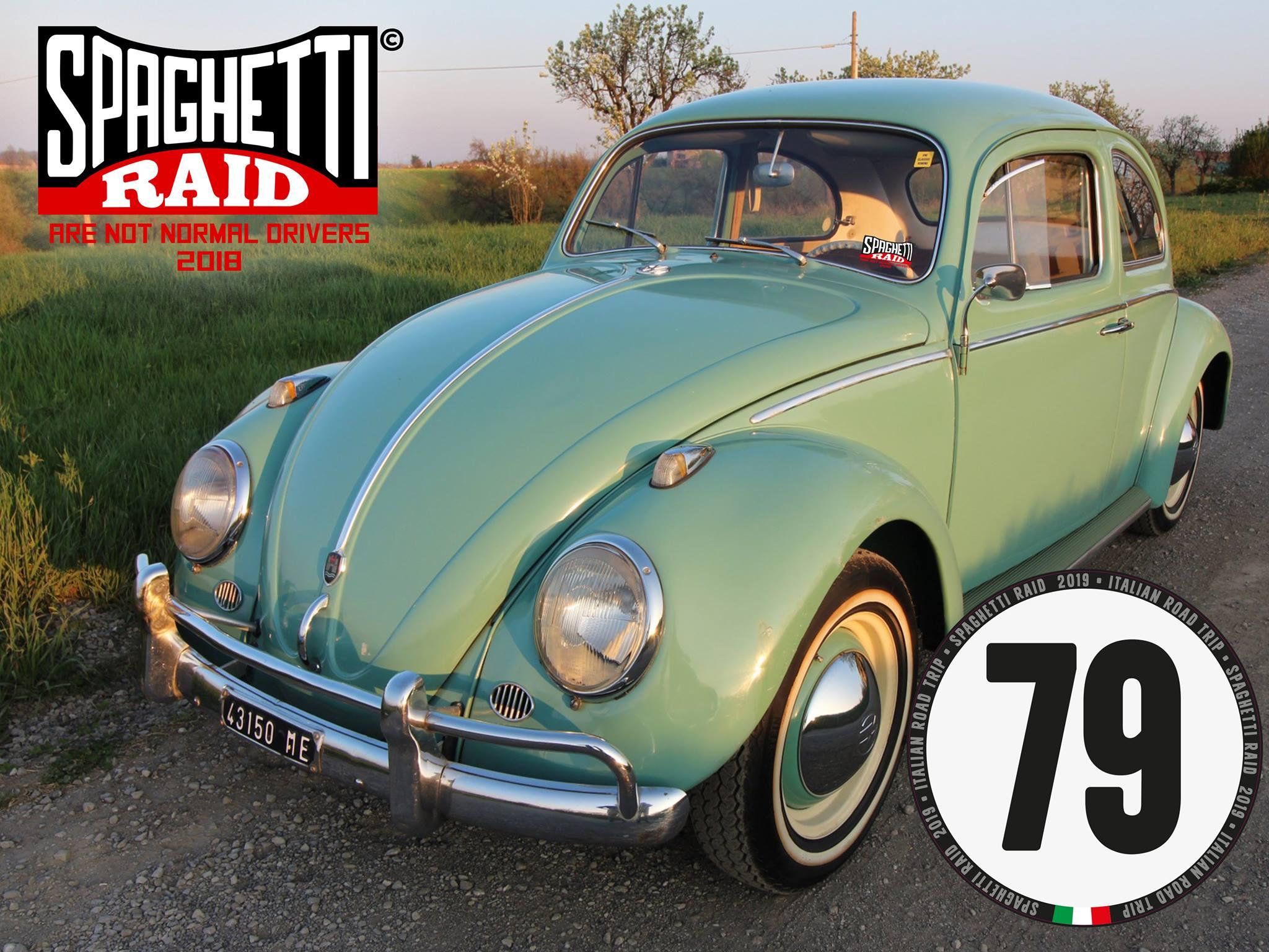 Team: SOL CA' TURNAM A CA #79 VW MAGGIOLINO 1200cc del '82 Città: Maranello MO