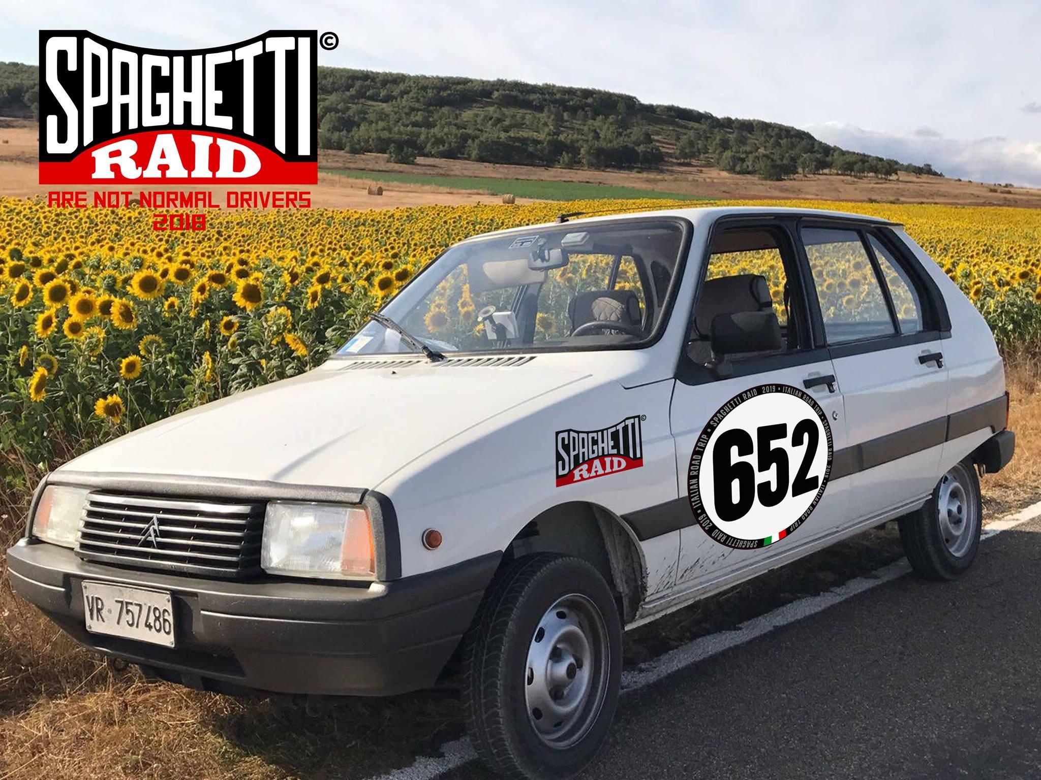 Team I FRANCESI #652 CITROEN VISA 652cc del '86 Città: Sant'Ambrogio di Valpolicella VR