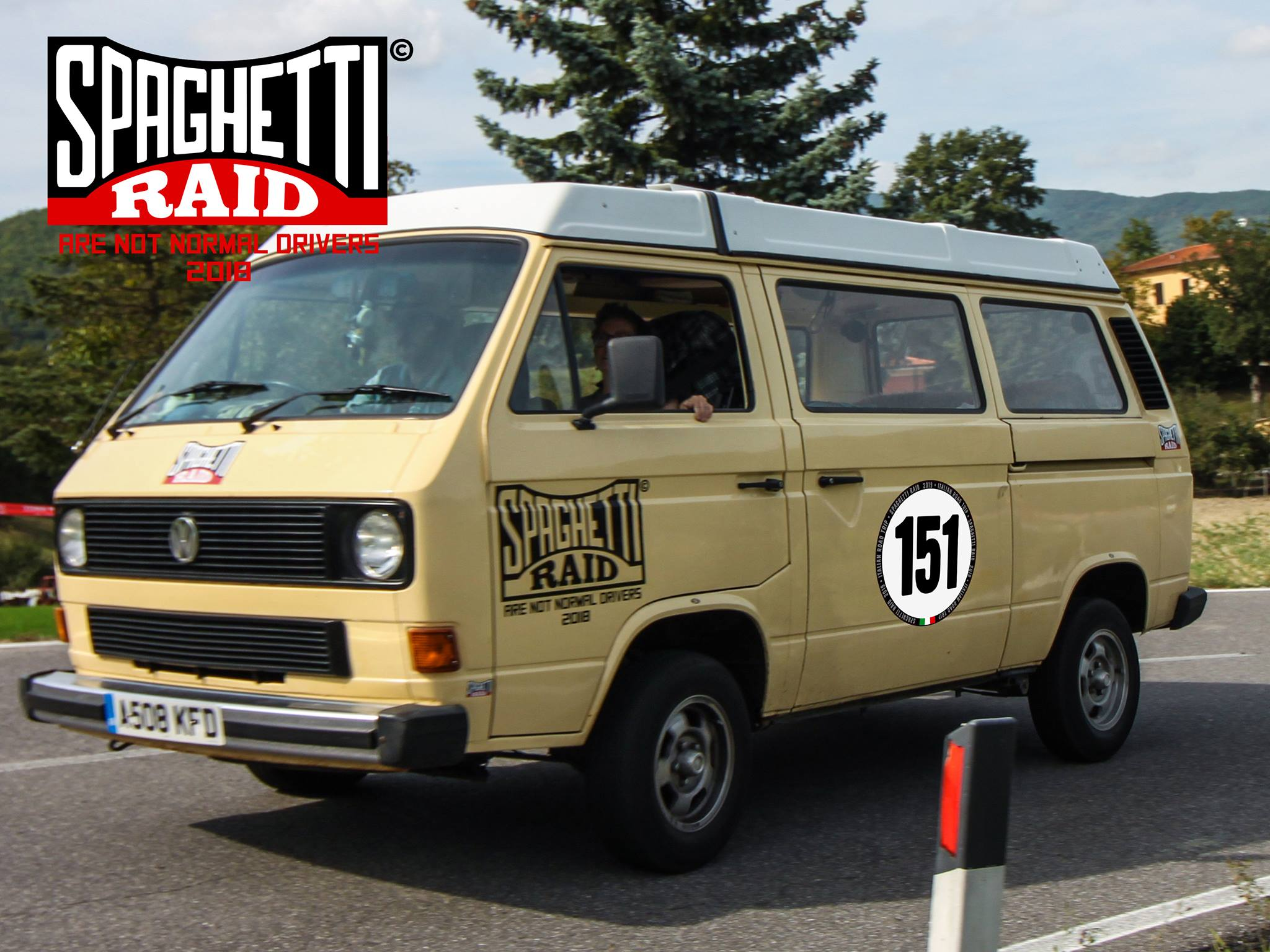 Team HAWAIIANS #151 VW T3 del '84 Città: Birkenhead, Wirral ENGLAND