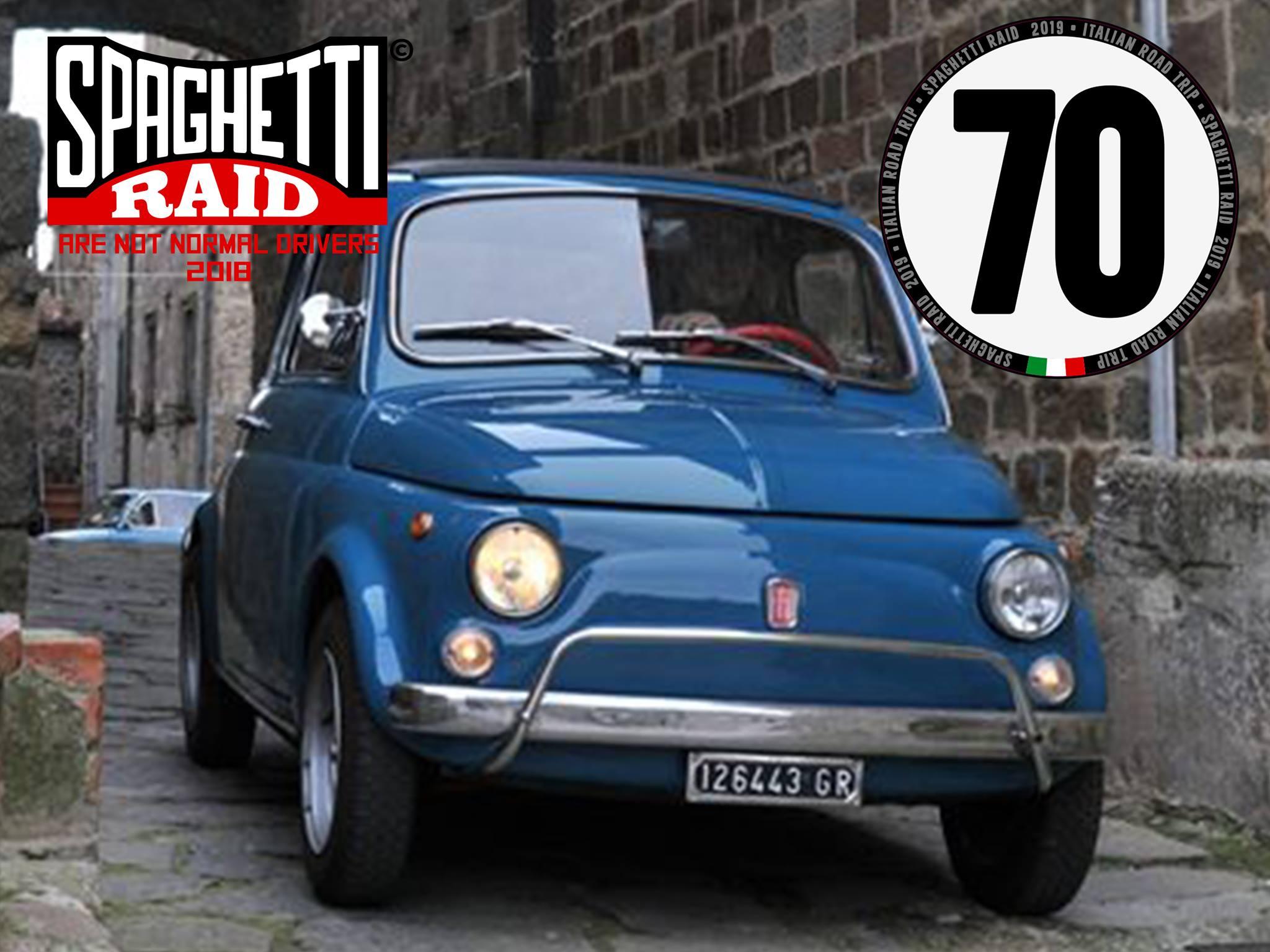 Team 500 PUFFOLANDIA #70 FIAT 500L del '70 Città: Follonica GR