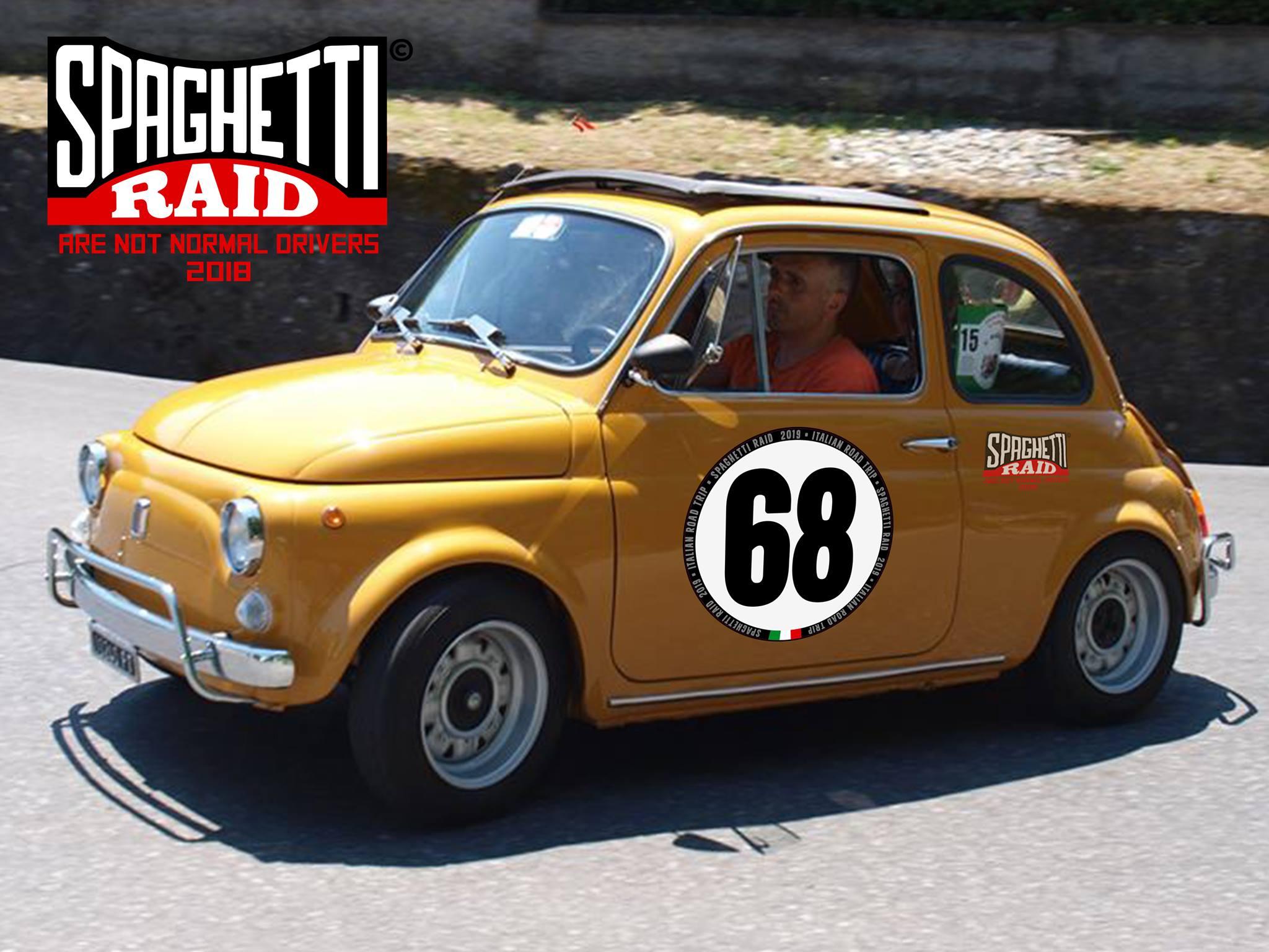 Team VELOCITA' E POTENZA #68 FIAT 500L del '71 Città: Abetone Cutigliano PT