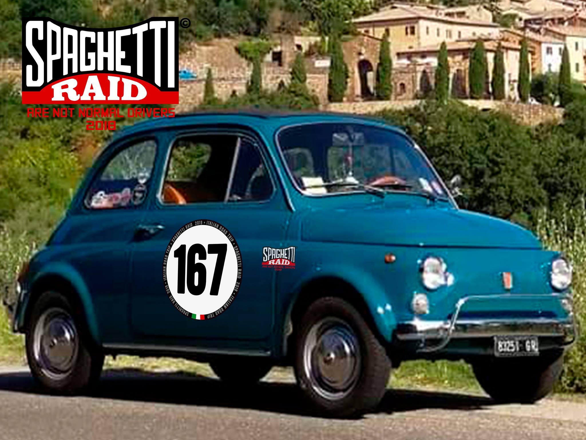 Team 500 PUFFOLANDIA #167 FIAT 500L del '71 Città: Grosseto