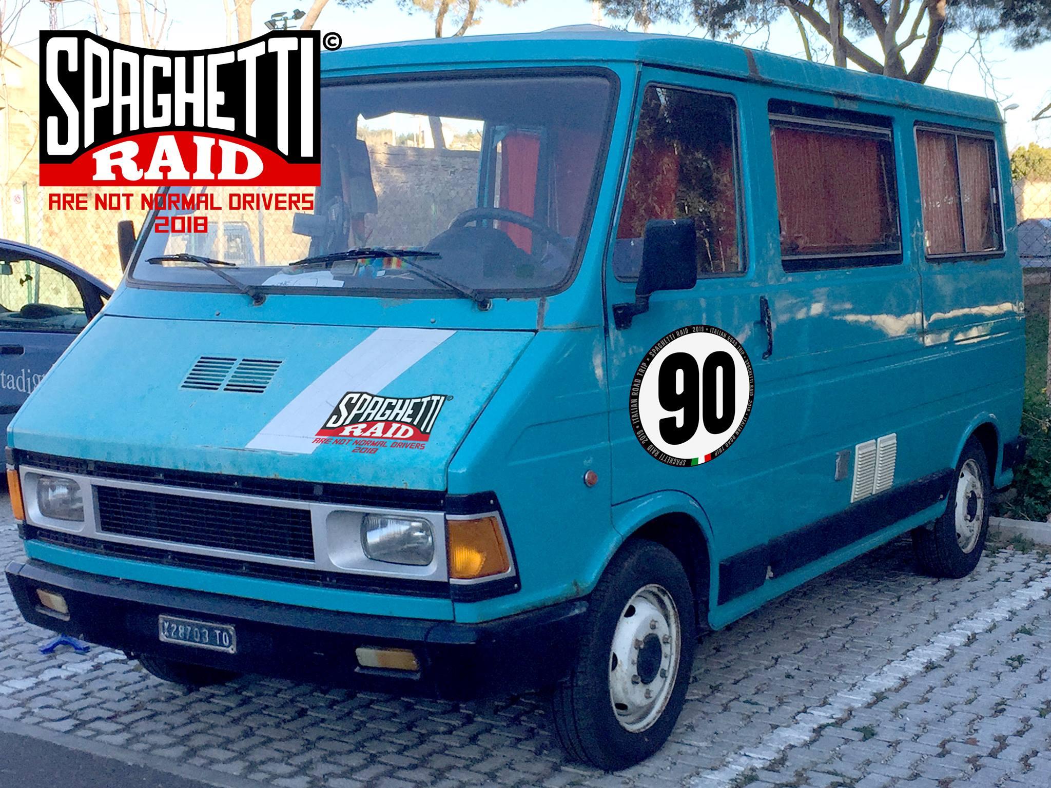 Team 500 PUFFOLANDIA #90 FIAT 242 del '82 Città: Piombino LI