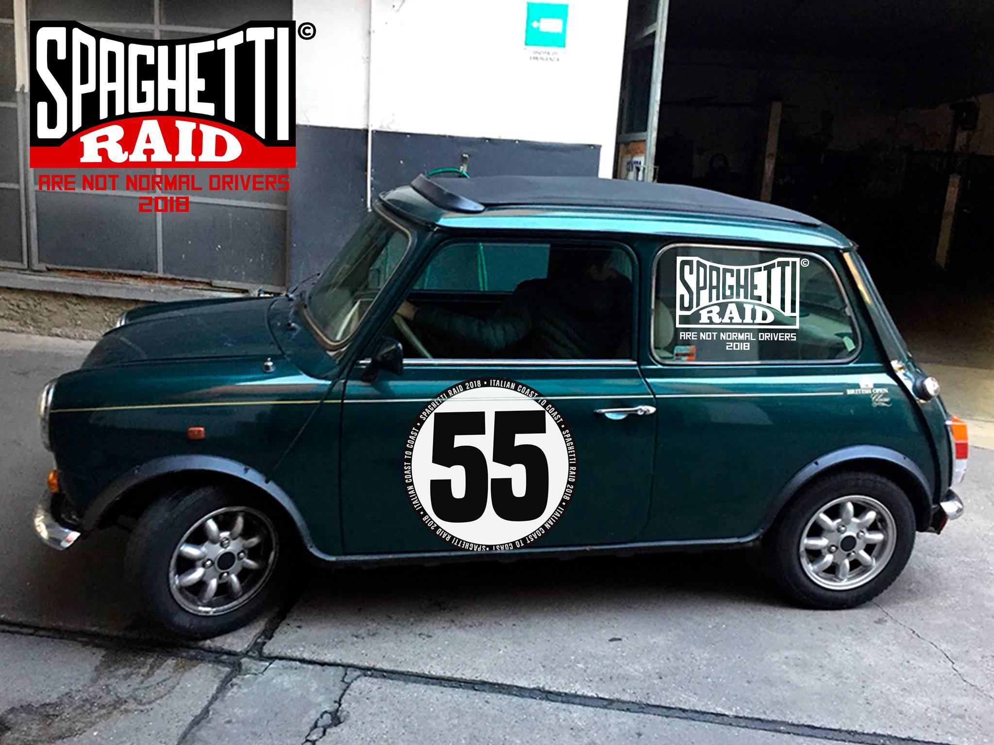 Team BARLAFUS #55 MINI 1300cc del '90 Città: Monza