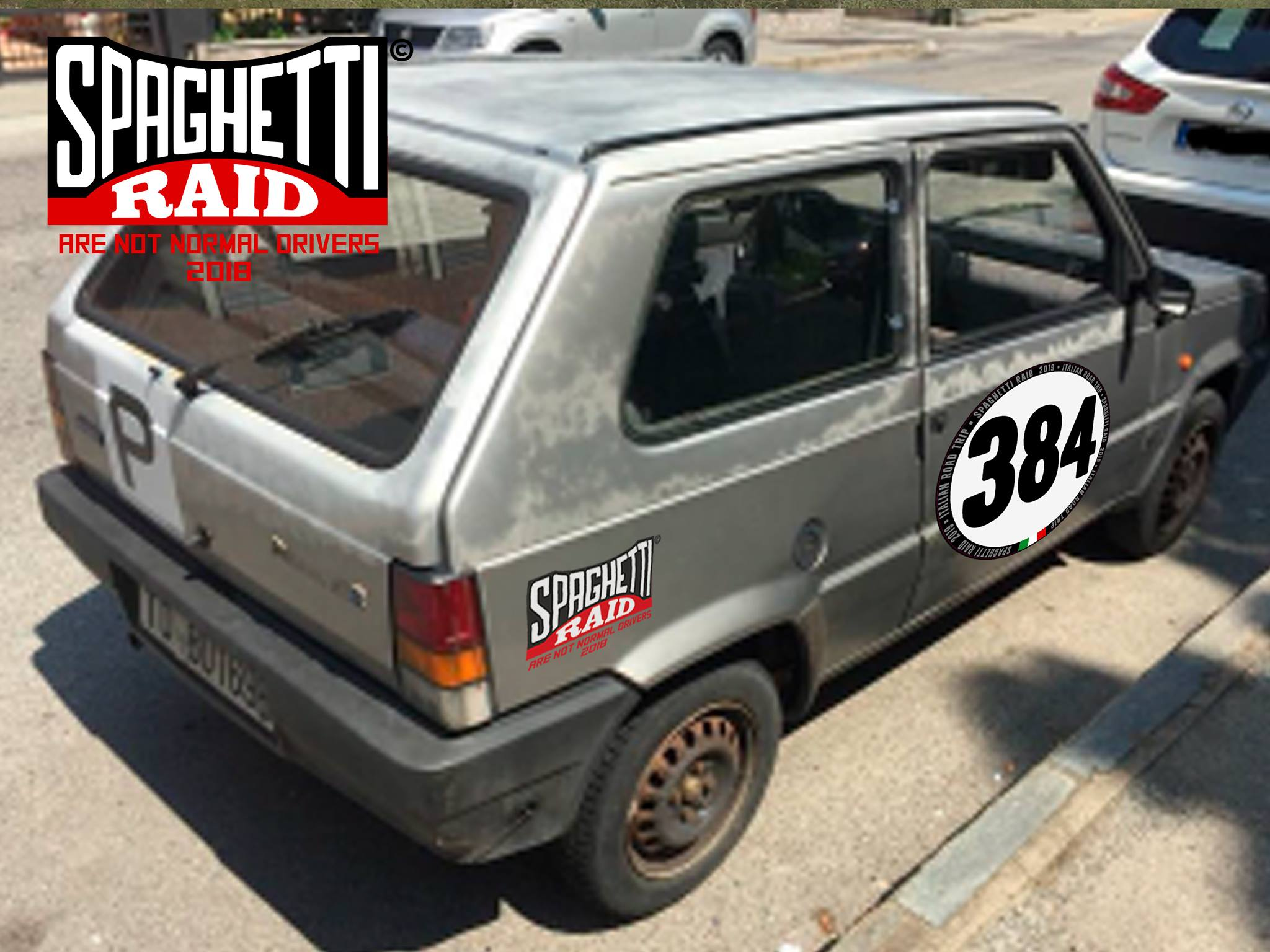 Team PANDASSASSINI 8384 #384 FIAT PANDA 750 del '86 Cittò: Collegno TO