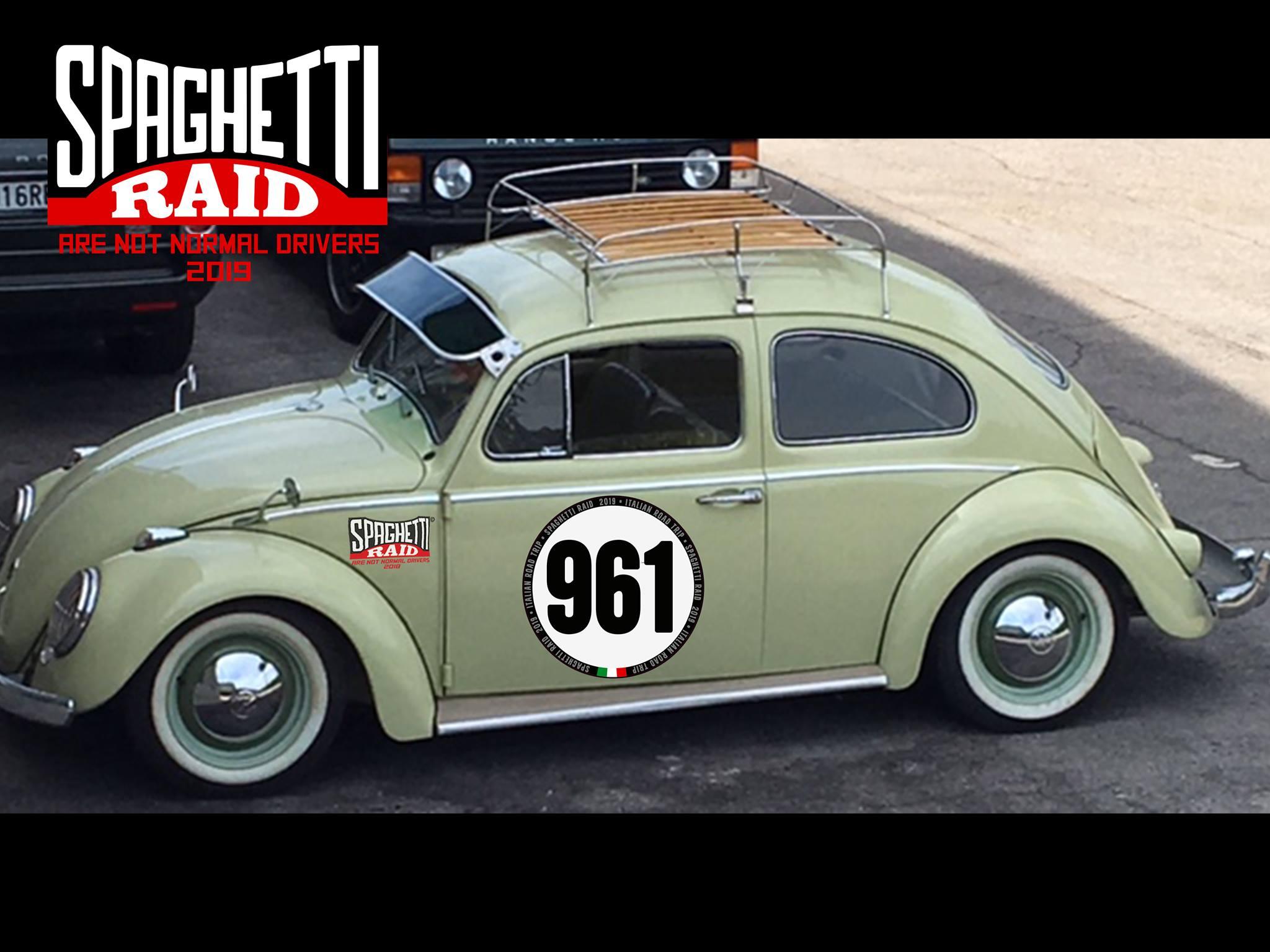 Team IL PASSATORE #961 VW MAGGIOLINO del '61 Città: Cesena