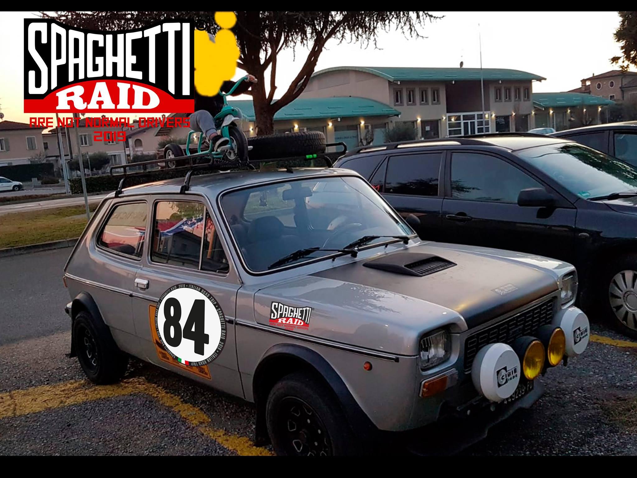 Team SGANZE #84 FIAT 127 SPECIAL 903cc del '76 Città: Paullo MI