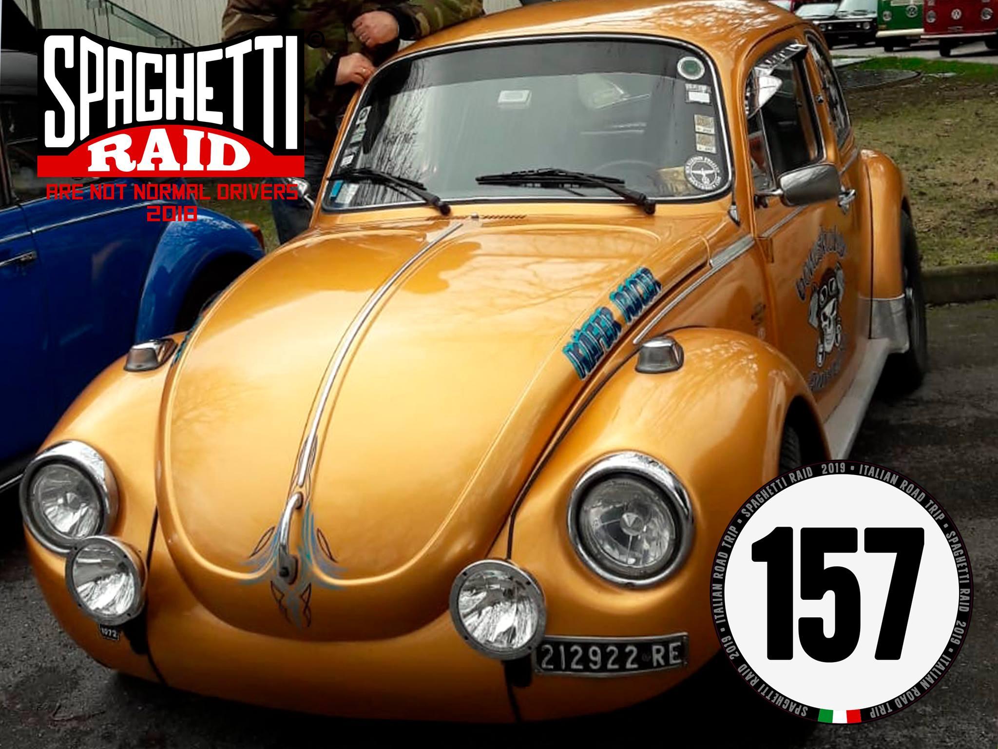 Team BONESHEKER GARAGE #157 VW MAGGIOLONE 1303cc del '72 Città: Reggio Emilia