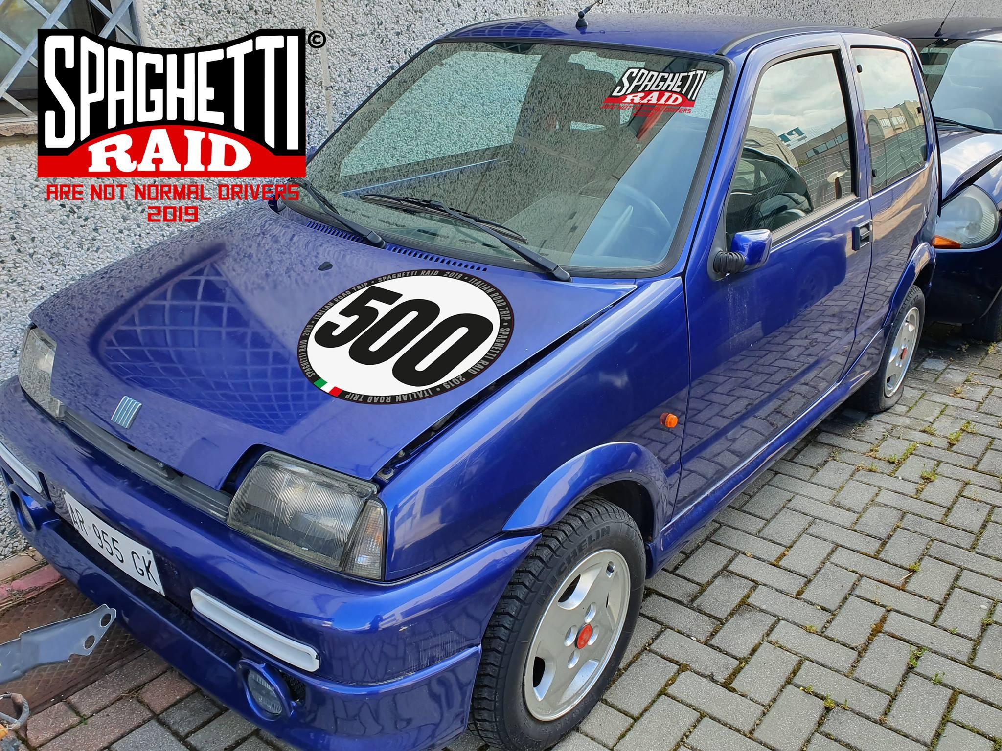 Team ABARTH & C #500 FIAT 500 SPORTING del '95 Città: Riccione RN