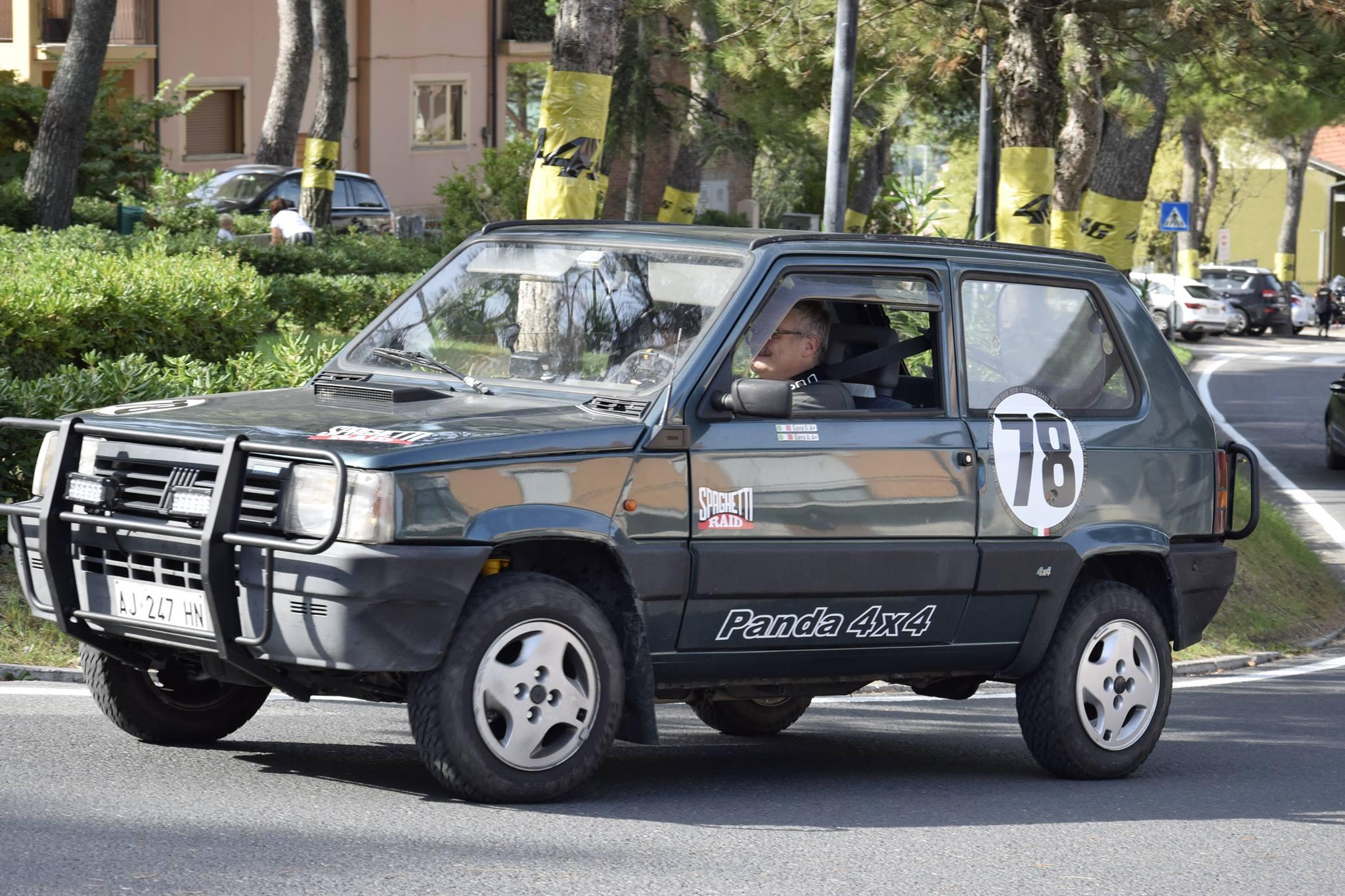 Team POLENTA TEAM #78 FIAT PANDA 4X4 1100cc del '96 Città: Conegliano TV